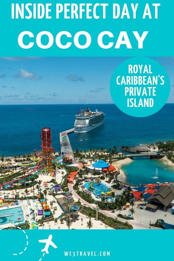 Find out why your next cruise should be on Royal Caribbean for a stop at Perfect Day at CocoCay, their newly renovated private island in the Bahamas. #royalcaribbean #comeseek #perfectdayatcococay #sponsored