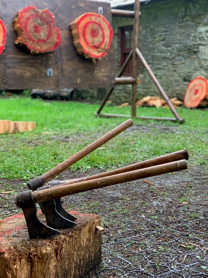 Winterfell Tours axe throwing