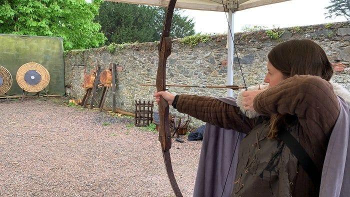 Winterfell archery experience