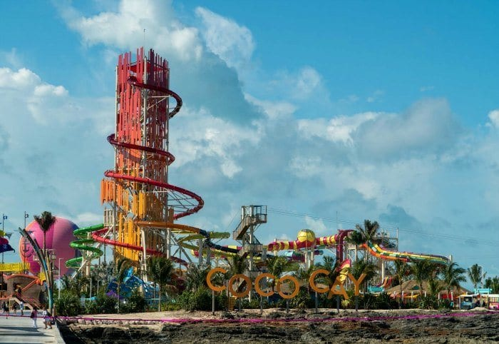 Perfect Day at CocoCay sign