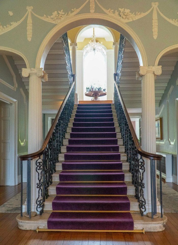 Mount Juliet Estate Manor house stairs