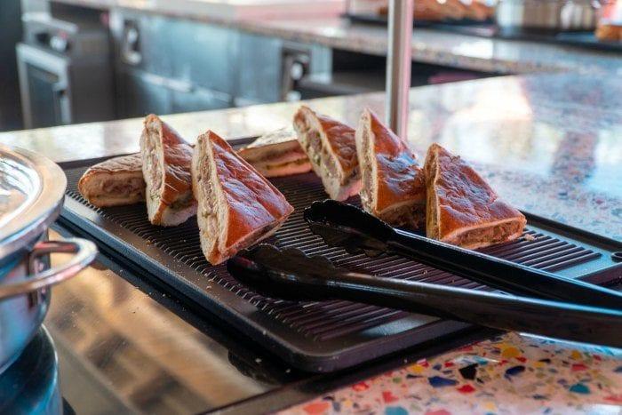 Cuban sandwiches at Skipper's Grill