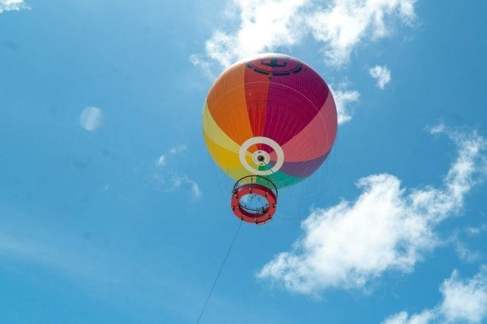 Up, Up, and Away helium balloon