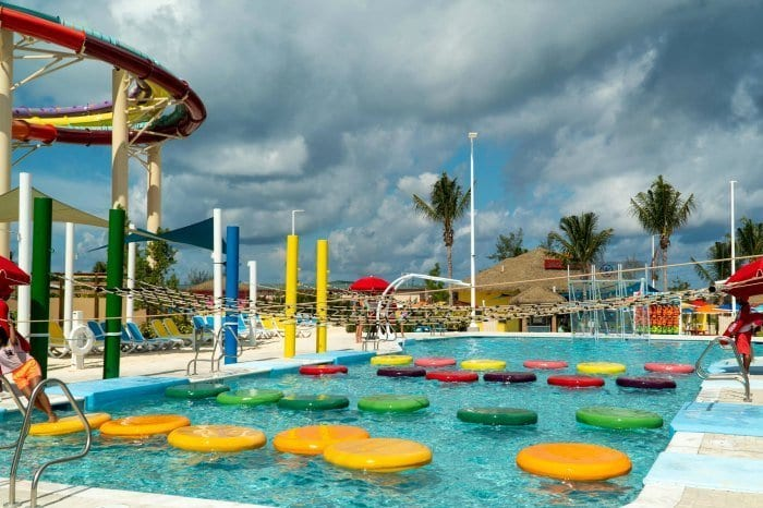 Adventure pool at Thrill Waterpark