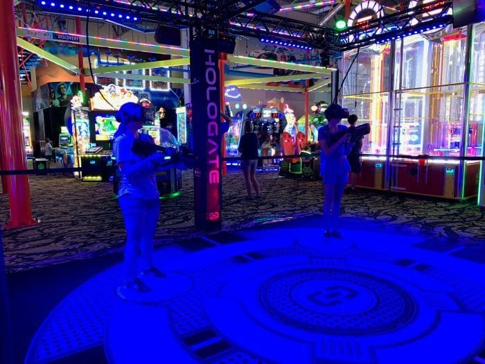 Andretti Hologate Virtual Reality game