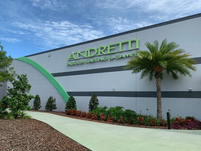 Andretti Indoor Karting and Games building