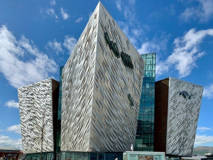Titanic Belfast outside