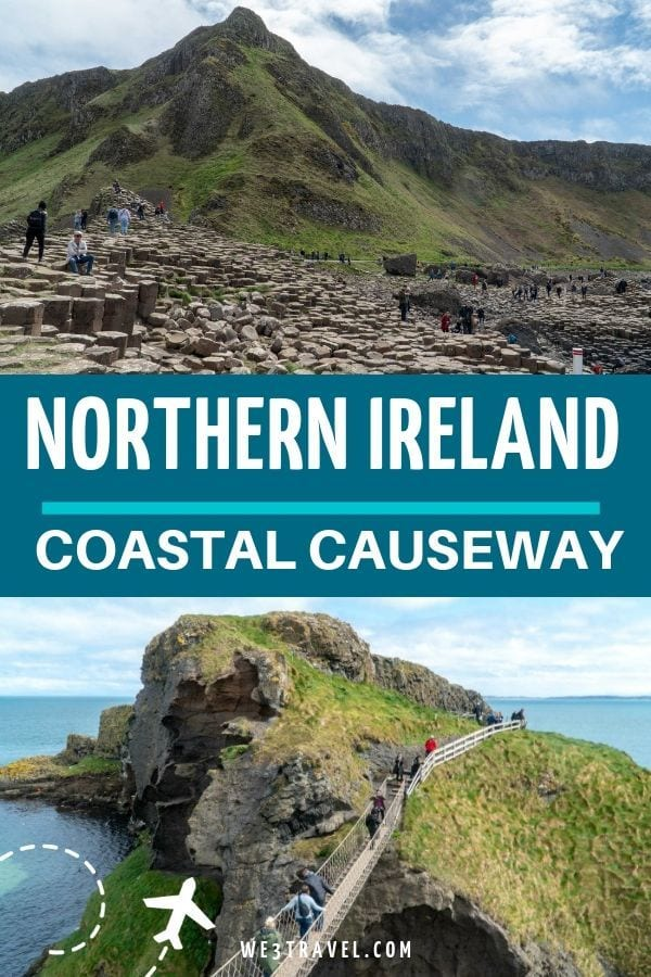 Where to stop on the Causeway Coastal Route in Northern Ireland from Belfast to Derry including the Giants Causeway, Dunluce Castle, Bushmills and more.