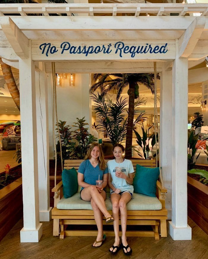 Margaritaville Resort Orlando review no passport required