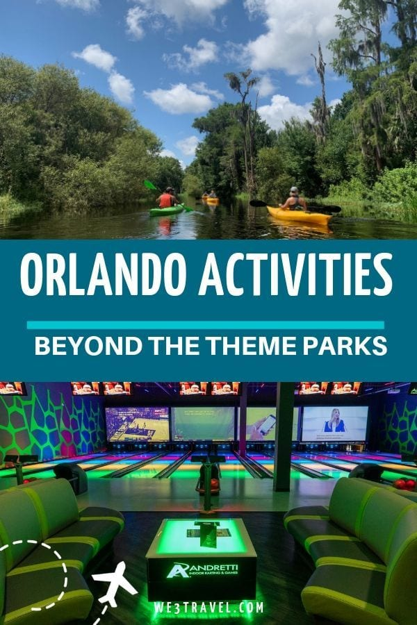 Orlando activities beyond the theme parks including attractions in Kissimmee, Orlando / International Drive, and Central Florida #florida #orlando