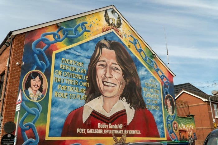 Belfast Bobby Sands Mural