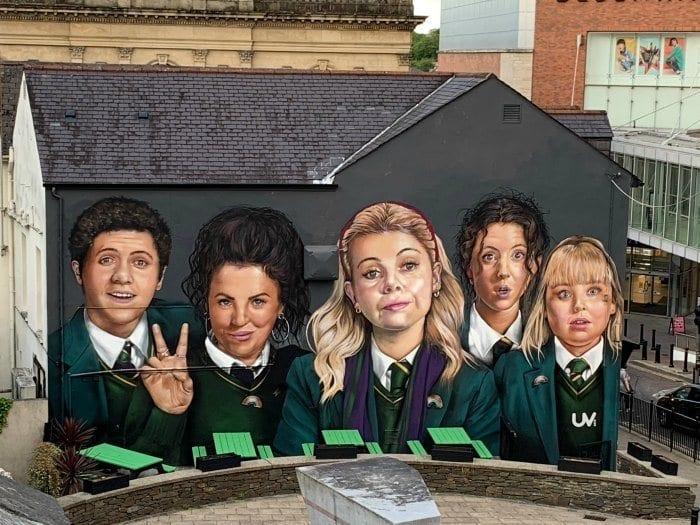 Derry Girls Mural Londonderry