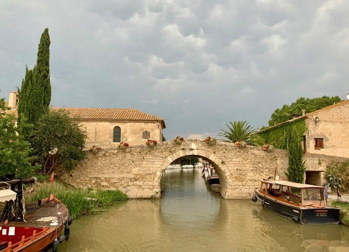 Le Somail on the Canal du Midi