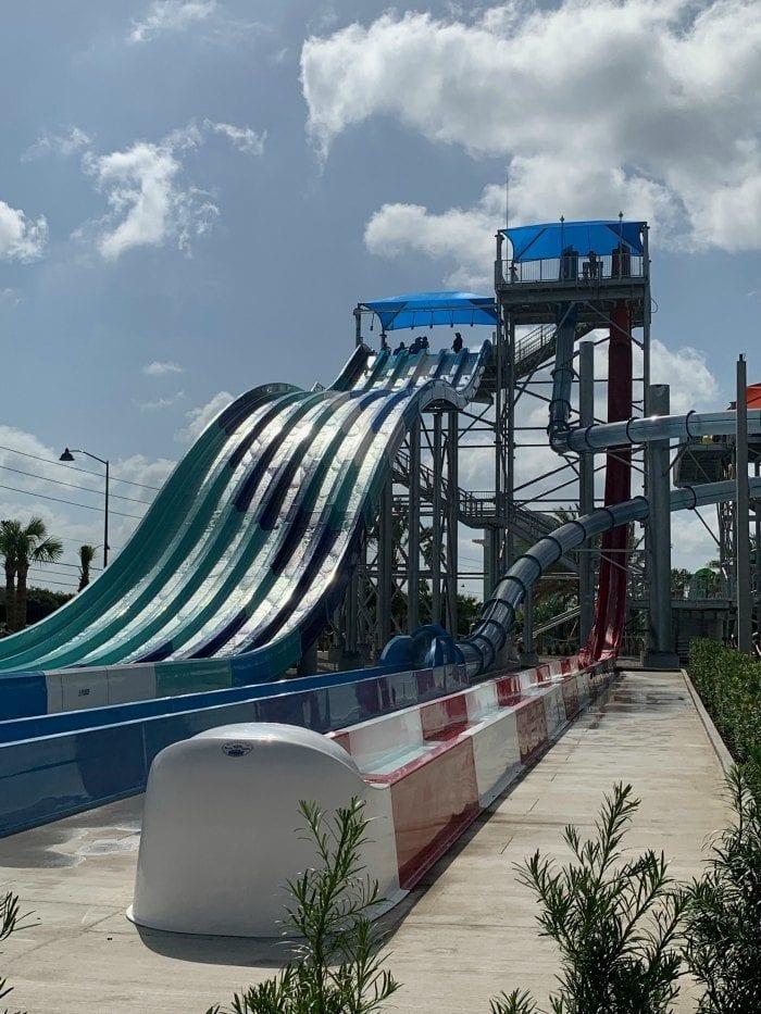 Island H20 Live mat racer slides
