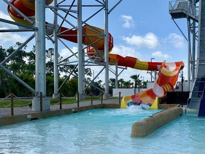 Profile Plunge raft ride