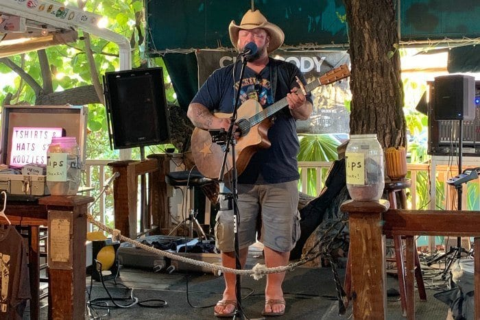 Live music at the Hogs Breath Saloon