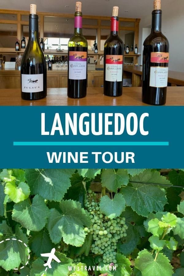 If you are visiting the Languedoc region in Southwest France and want to explore the wine region, consider taking a Languedoc wine tour with Taste du Languedoc. #languedoc #france #winetour