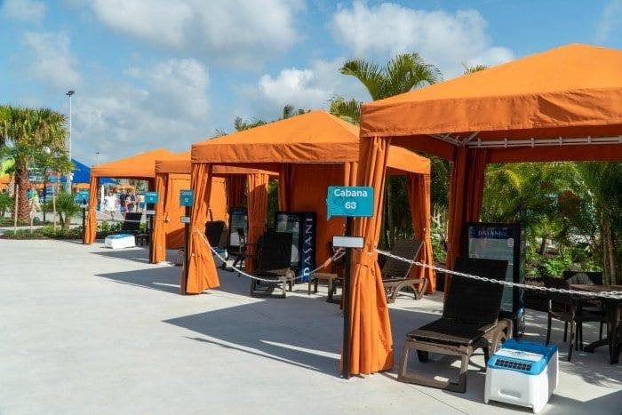 Island H20 Live cabanas