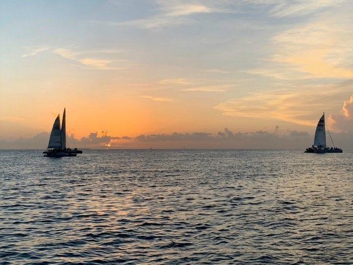 Sebago Key West sunset cruise
