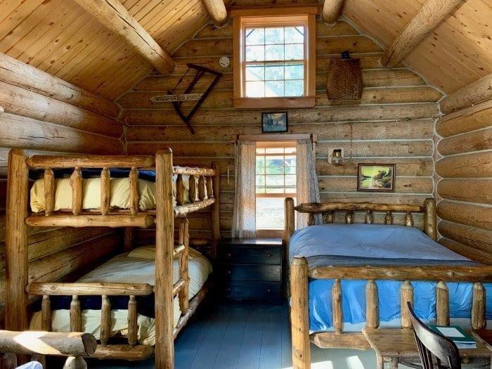 Gorman Chairback Lodge cabin two