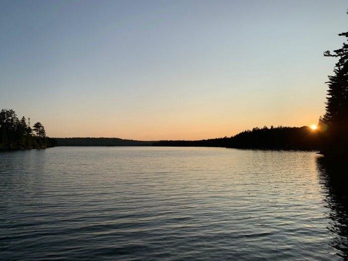 Gorman Chairback Lodge pond