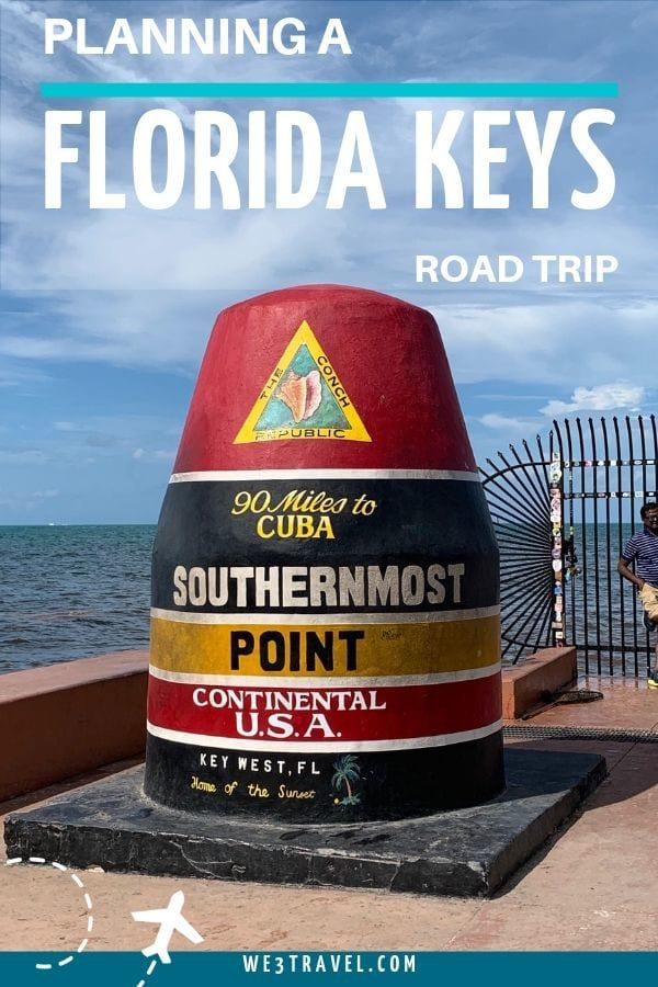 Planning a Florida Keys road trip