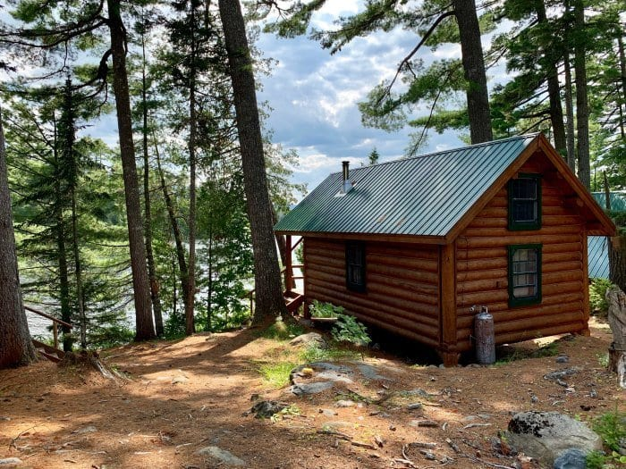 Gorman Chairback Lodge and cabins