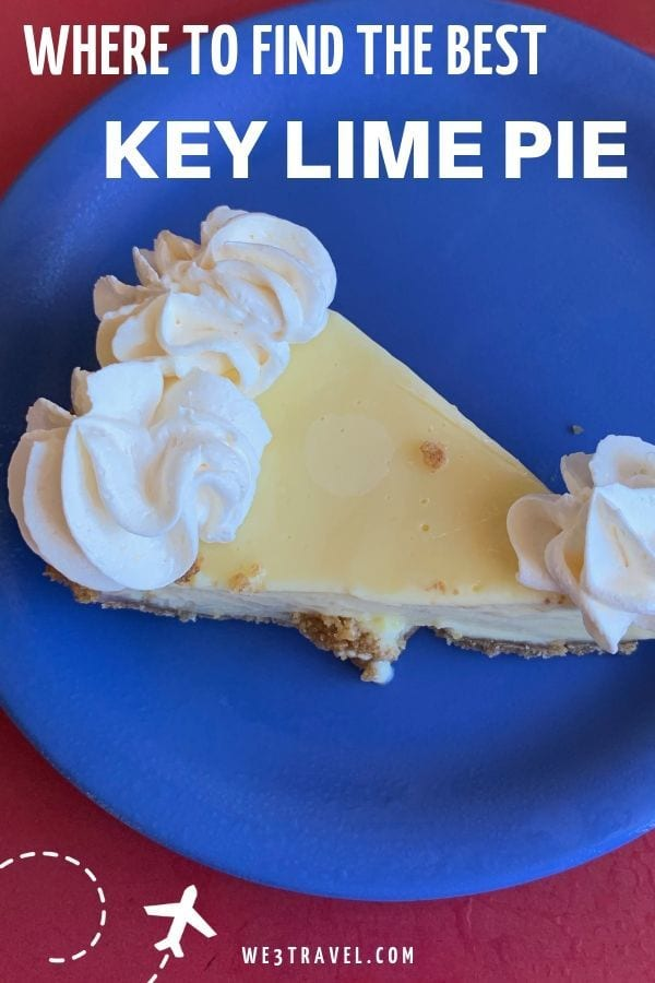 Find the best key lime pie in Key West and the rest of the Florida Keys, whether you like it fried, frozen, chocolate dipped, or flavored. #floridakeys #keylimepie #keywest