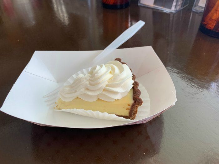 Old Town Bakery Key Lime pie