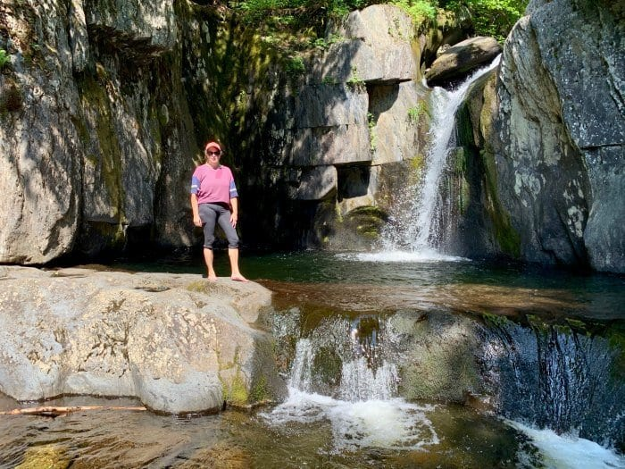 Tamara at Screw Auger Falls