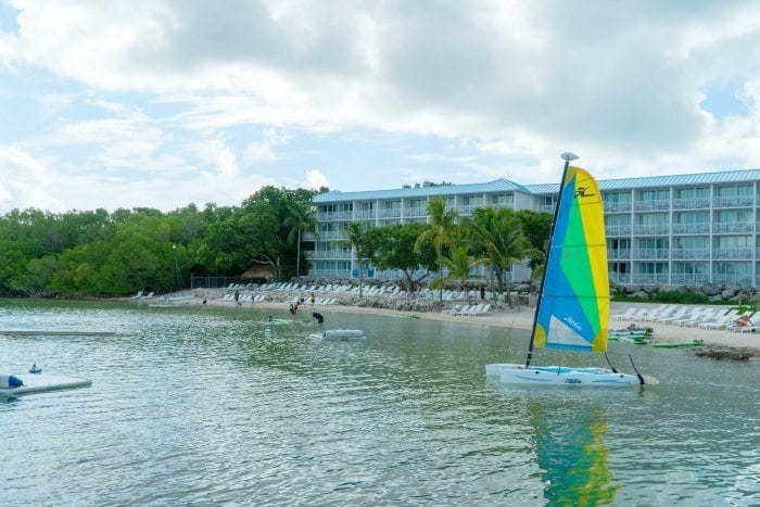 Bakers Cay Resort beach