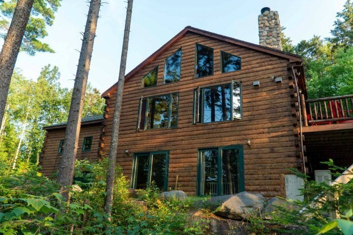 Loon Lodge on Wilson Pond