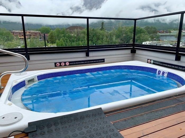 hot tub at Basecamp Resorts