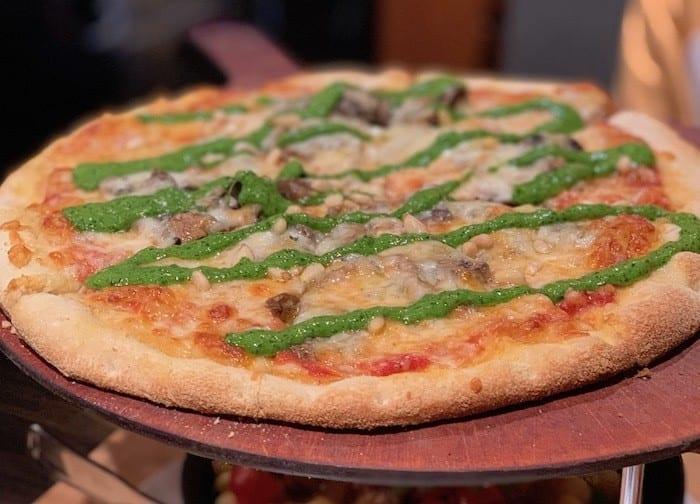 Pizza at Bear Street Tavern