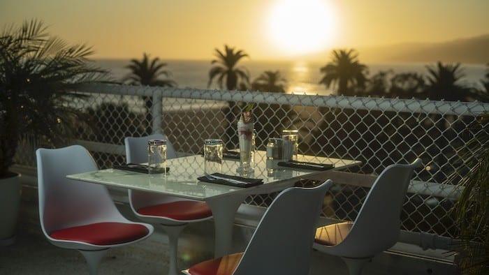 Shangri-La Santa Monica sunset