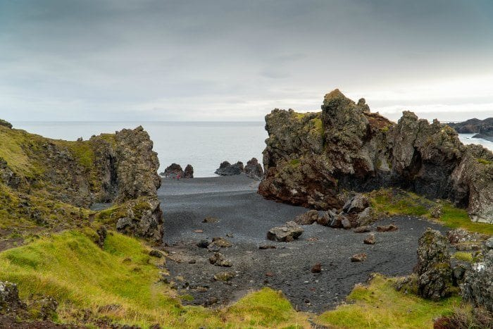 Djúpalónssandur black sand beach