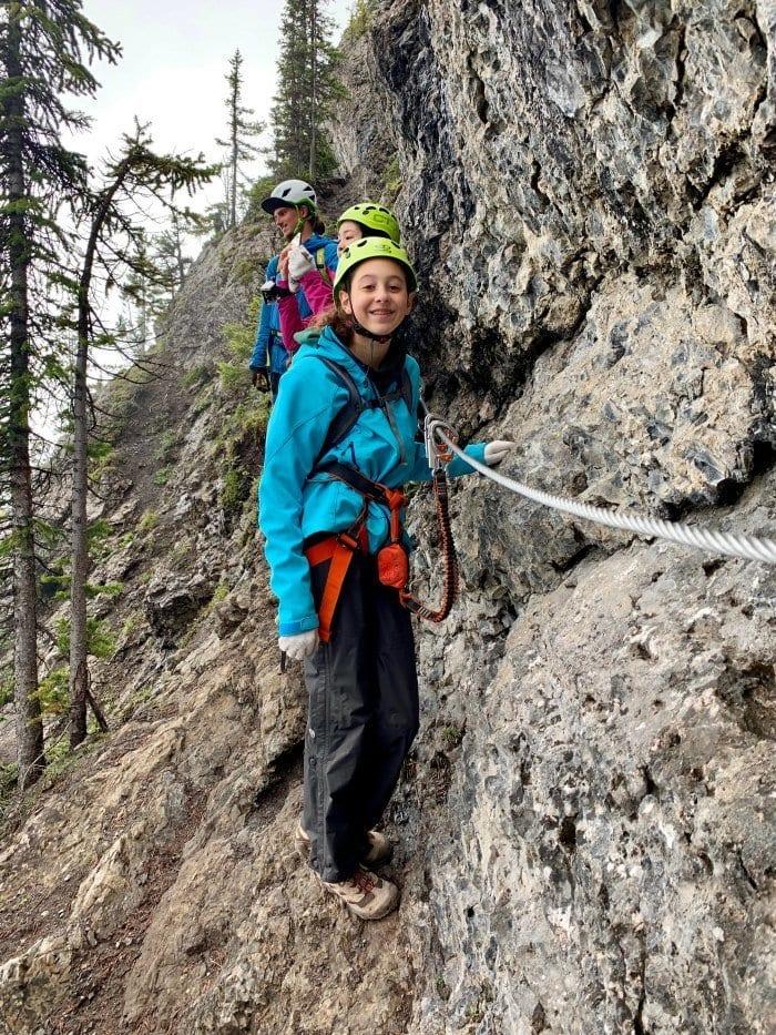 climbing the Via Ferrata