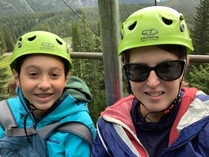 Mt Norquay chairlift