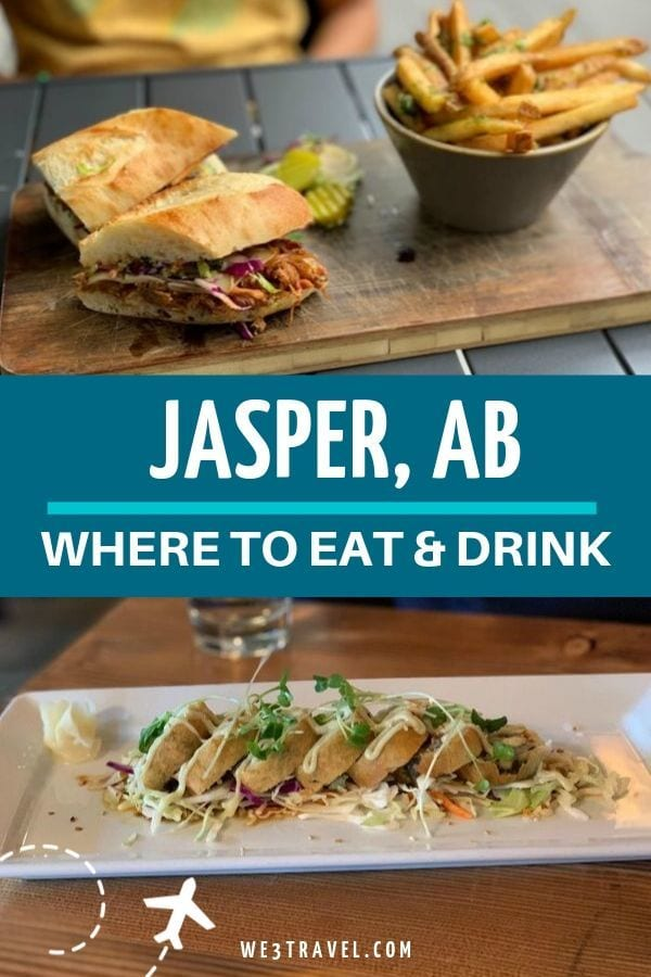 Where to eat in Jasper - Maligne Wilderness Kitchen and Evil Dave's Grill