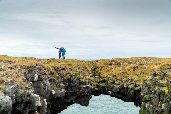 Arnarstapi land bridge