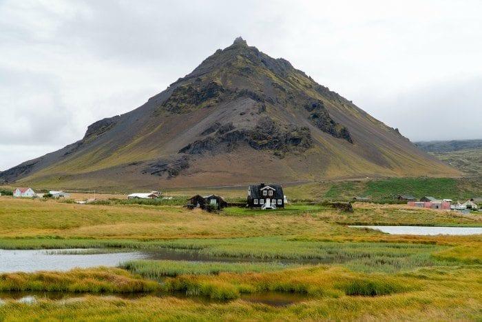 Black house in Arnarstapi