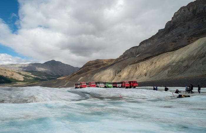 Glacier Ice Explorers