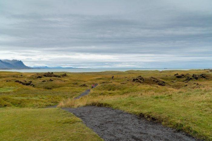 Trails at Budakirkja