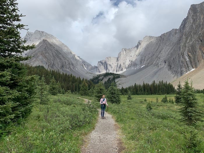 Hiking to Chester Lake