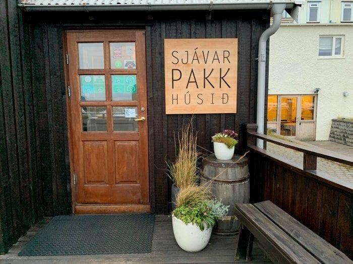 Seafood restaurant in Stykkishólmur Sjavarpakkhusid