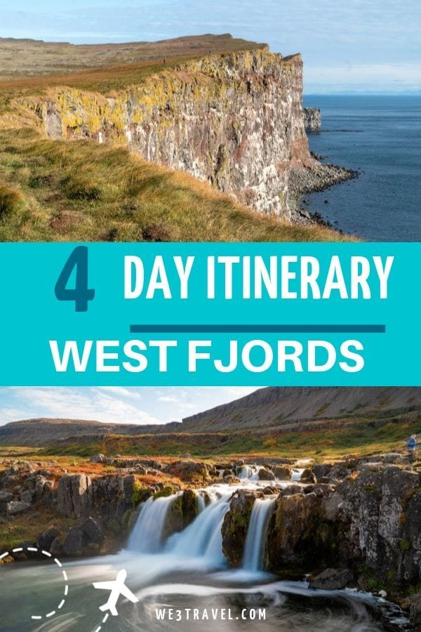 4 day itinerary for the West Fjords of Iceland