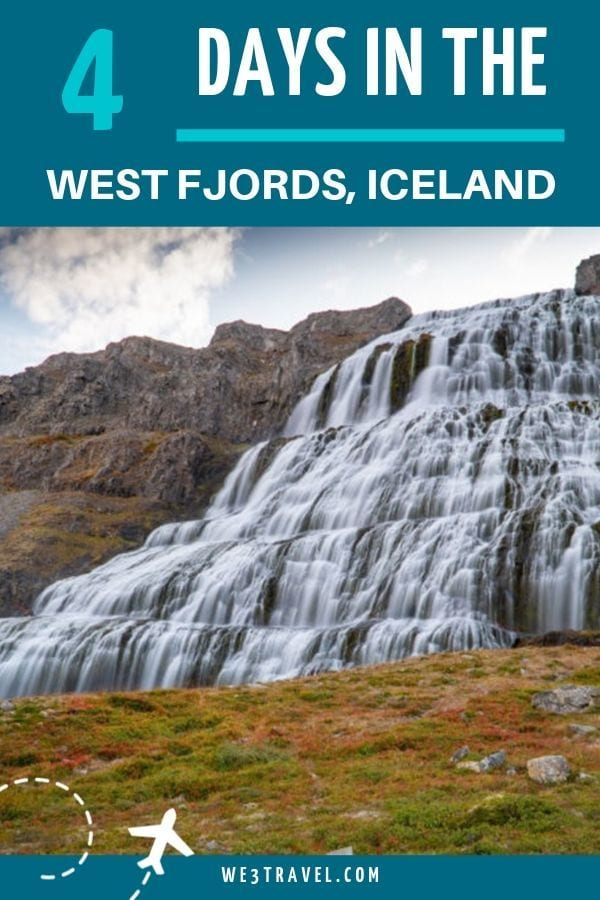 How to spend 4 days in the West Fjords of Iceland with this easy to follow itinerary