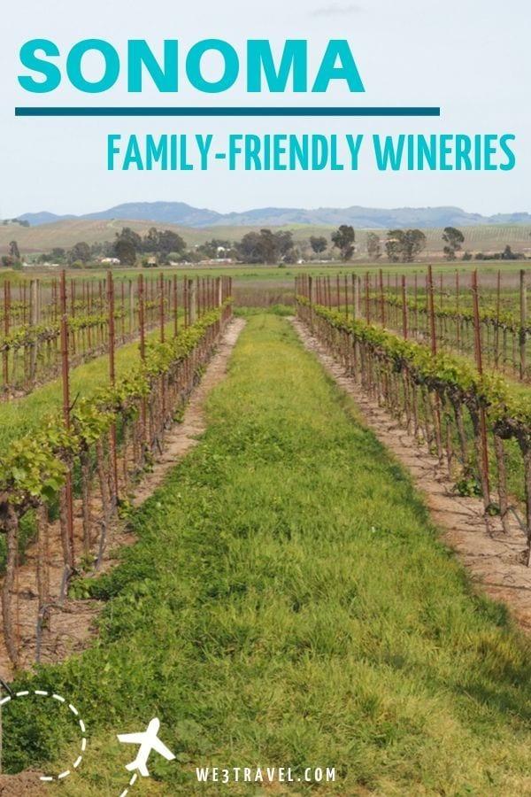 Family-friendly Sonoma County California and Santa Rosa Wineries