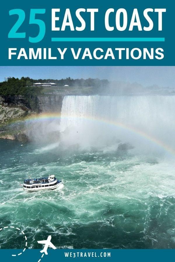 25 East Coast family vacations