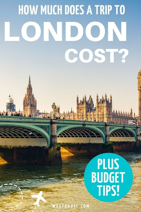 How much does a trip to London cost